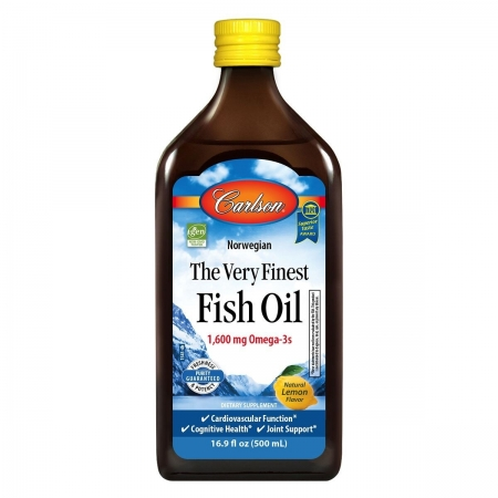 Carlson's Finest Fish Oil Omega 3 -
